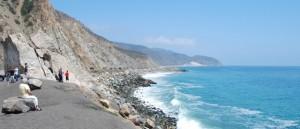 Palos Verdes Peninsula rocky shore